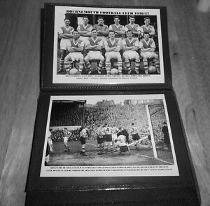 BOURNEMOUTH F.C Photo Album (1950's & 1960's +++ more)