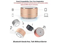Bluetooth mini speaker LED Flash Lighting Portable Wireless Bluetooth For Android IOS Phone With