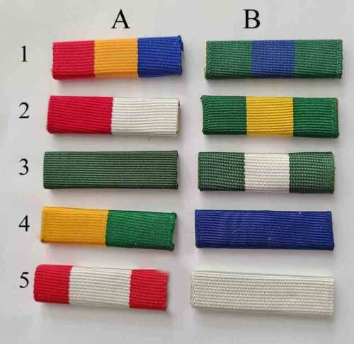 MB04-Boy Scout type Ribbon-10 Different Ribbons to pick from