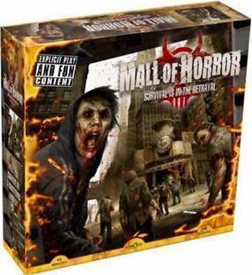 Mall of Horror Zombie Survival Board Game for 3 - 6 players - Free Shipping