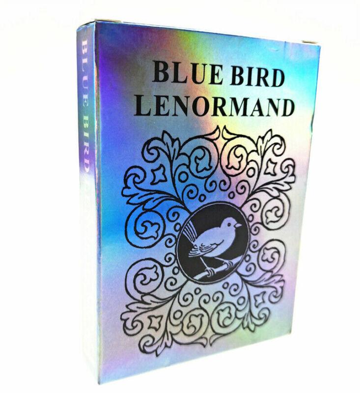 Blue Bird Lenormand Oracle Tarot Deck 78 Cards Divination Prophet Cards Gift