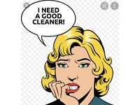 Cleaner needed for town house in Conlig.