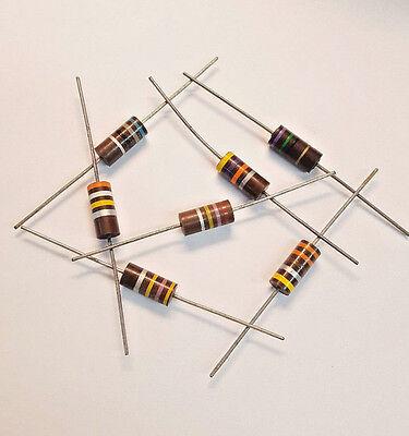 Lot Of 3 680 Ohm 2w 10 Carbon Composition Resistor Carbon Comp 2000mw