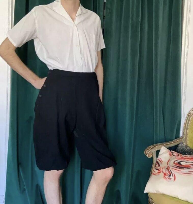 1930s Aldrich & Aldrich Two Piece Workout Sportswear Outfit