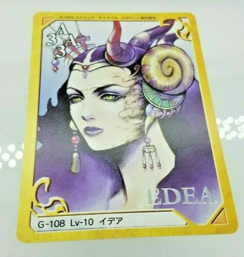 Final Fantasy 8 VIII Triple Triad Card - G-108 Edea