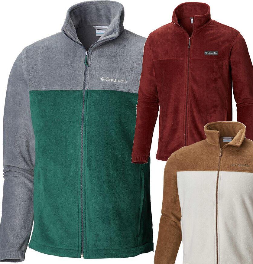 New Mens Columbia LT XLT 2XLT 3XL 3XLT Fleece Jacket Steens