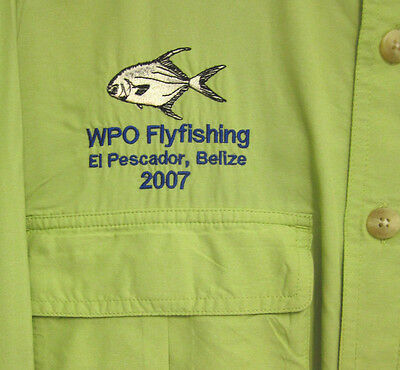 WPO Flyfishing med shirt El Pescador BELIZE fishing 2007 Deke Ambergris Cay DEKE image