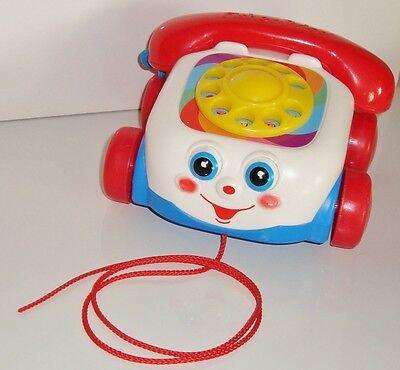 Téléphone jouet 1er age FISHER-PRICE MATTEL 2000 (10x15cm)