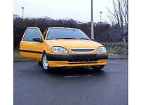 Citroen saxo 1.1 for sale as spare and repair (partly modified)