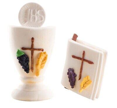 Kit Kommunion IN Zuckerdose Kelch Und Gospel Cake Topper Torte Kommunion MODECOR
