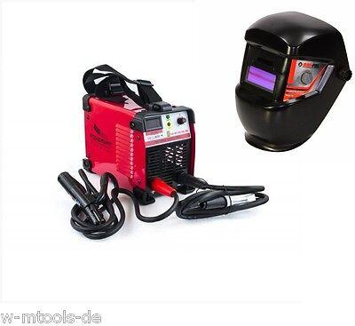 250A Inverter IGBT MMA + 2 Maske Schweißgerät LCD Elektrodenschweißgerät PROFI