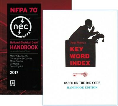 NFPA 70 2017 : National Electrical Code (NEC) Handbook with Key Word Index 2017