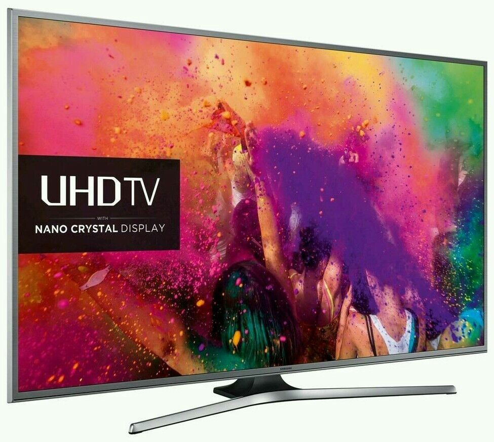 """Samsung 55"""" LED 4K UHD HDR smart wifi tv built in HD freeview USB media player ."""