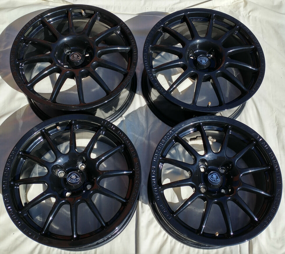 team dynamics motorsport pro race 1 2 rims for lotus elise. Black Bedroom Furniture Sets. Home Design Ideas
