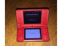 Nintendo DSI xl Super Mario Edition +Charger+ 6 games
