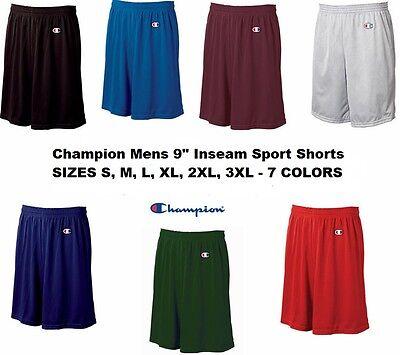 Champion Mens NEW Size S-3XL Athletic Poly Mesh Gym Basketba