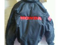Honda Cbr embroidered jacket size small