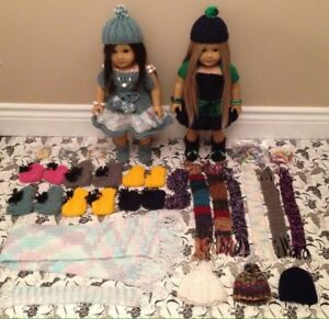 American girl doll handmade clothes and accessories