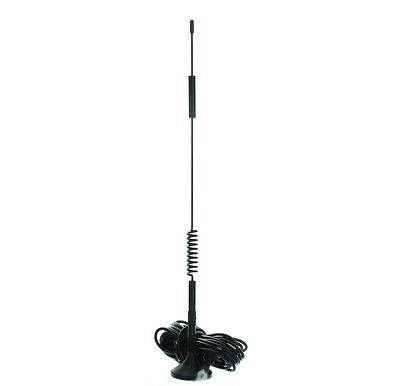 Antenna 12 Inch Magnetic Mount (Wilson weBoost 311128 12-inch Magnet Mount Antenna TNC-Male )