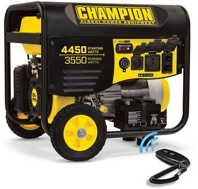 100433 portable generator gas powered with 224cc