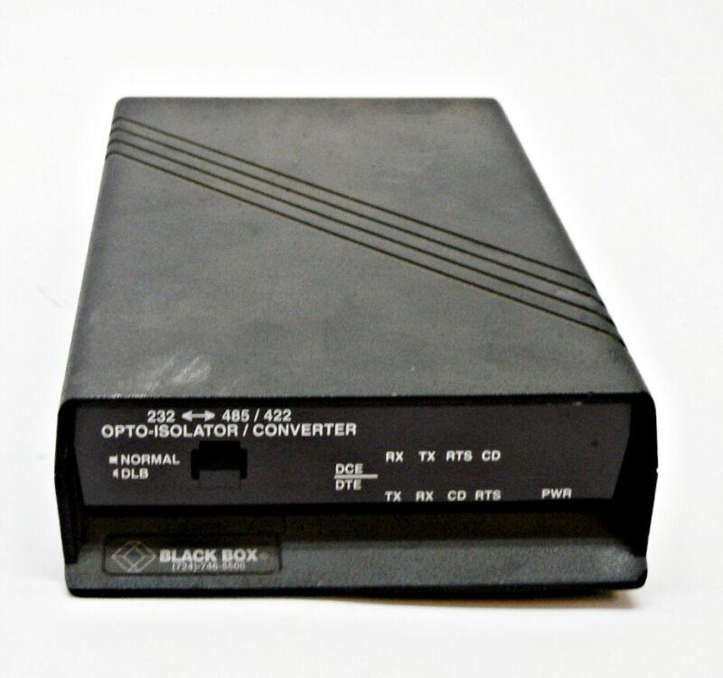 BLACK BOX IC109A-R2 OPTO-ISOLATOR/CONVERTER **READ**