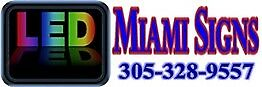 LED Miami Signs
