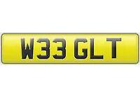 W 33 GLT Cherished Registration