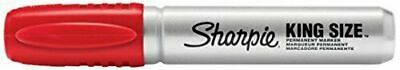 Sharpie Chisel Tip Permanent Marker 15002 - King Size Red