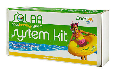 Enersol Swimming Combine Solar Heating System Kit - One Needed Per Installation