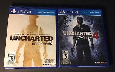 Usado, Uncharted Collection 1-4 [ 4 Games in 2 Packs ] (PS4) NEW segunda mano  Embacar hacia Argentina