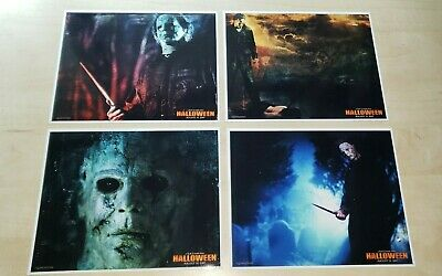 Rob Zombie's HALLOWEEN (4) 8X10 Photo Lot #2 Taylor Mane as Michael Myers