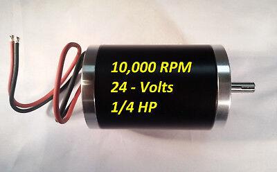 10000-rpm 24v-dc Electrical-motor Servo Cnc 8mm Project Permanent-magnet 0.25-hp