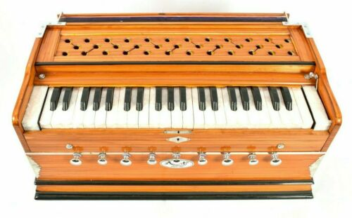 Professional High Quality Musical Instruments 9 Stopper Multi Bellow Harmonium