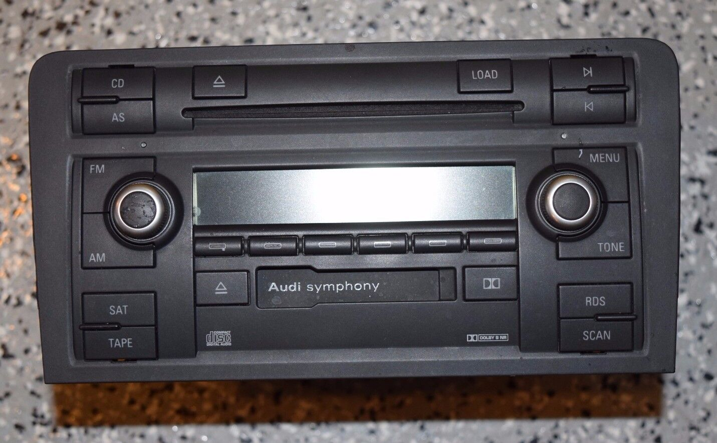 audi a3 symphony ii cd player radio stereo b7 2005 2006. Black Bedroom Furniture Sets. Home Design Ideas