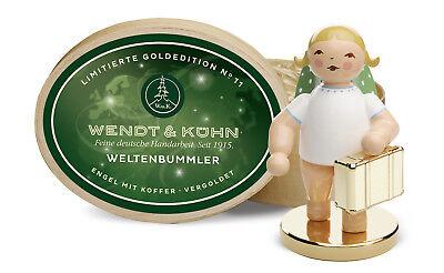 Weltenbummler,  lim. Goldedition Nr. 11 vergoldet Wendt & Kühn - Neuheit 2018