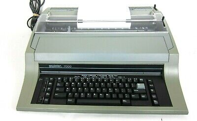 Swintec Model 7000 Electronic Typewriter Wide Format Correctable - For Parts