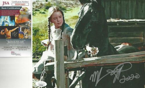 Melissa Gilbert Little House Prairie Autographed 8x10 Photo dated 2020 JSA CERT*