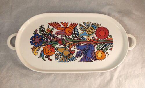 """Villeroy & Boch Acapulco 14"""" Handled Oval Serving Platter"""