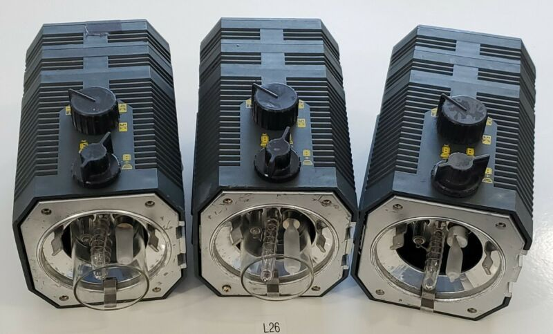*PREOWNED* LOT OF 3 Balcar Mini Z2 Electronic Flash + Warranty & Fast Shipping!