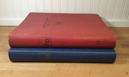 Lot of 2 Famous Artists Course books, Famous Artists Schools, Binder, Vintage
