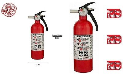 KIDDE Fire Extinguisher 5 B:C Dry Chemical Emergency Home Car Auto Garage Safety