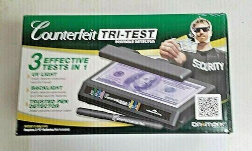 Dri Mark Tri Test Portable - Counterfeit Bill detector UV with Pen