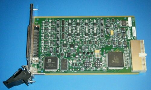 NI PXI-6704 32ch 16bit Analog Output ±10V & 0-20mA, National Instruments *Tested