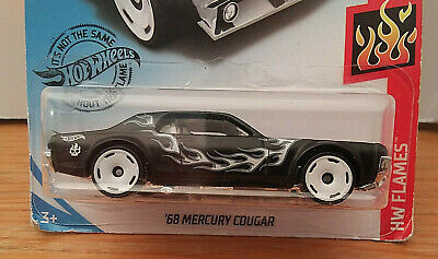 Hot Wheels Case Q/2020 A '68 MERCURY COUGAR #164✰black;white HW Flames