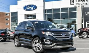 2017 Ford Edge TITANIUM - HEATED/COOLED SEATS - BLUETOOTH