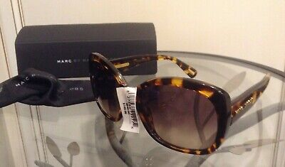 NWT $245 Marc by Marc Jacobs Sunglasses 303/S TVZED 57 19 135 w/ Case + Cloth