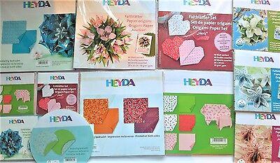 Origami Papier Sets Faltpapier Heyda, wahlweise