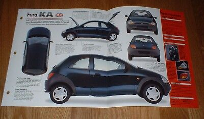 ★★1997 FORD KA SPEC SHEET BROCHURE PHOTO INFO PAMPHLET 96 97 98 99★★ comprar usado  Enviando para Brazil