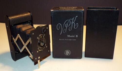 Kodak VPK Camera Model B Autographic Film Vest Pocket Folding with Chimney Box