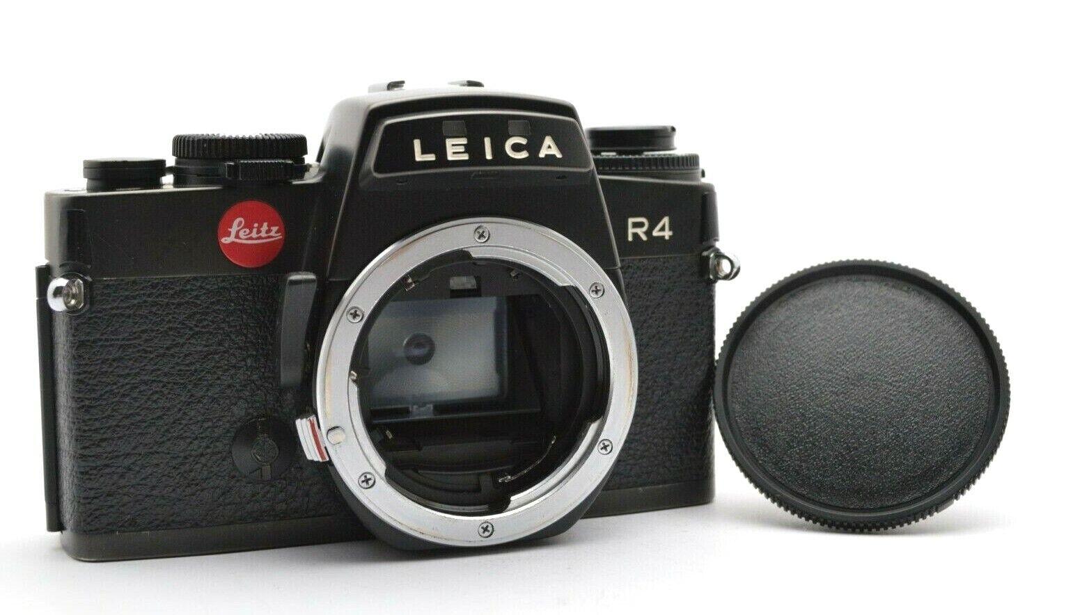 Leitz Leica R4 SLR-Kamera Analog Spiegelreflex Camera Body Gehäuse + Cap i117